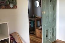 Fig Tree Cabin Recreated bush cabin,rural views