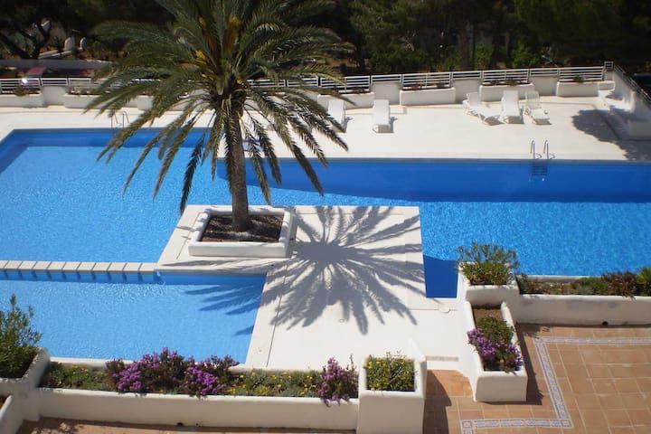 Lovely apartment Ibiza Cala Tarida - Sant Josep de sa Talaia - Lägenhet