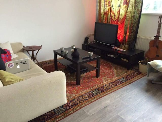 2-room comfortable apartment near centre & airport
