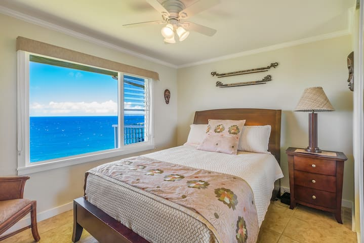 Guest Bedroom with Forever Ocean Views