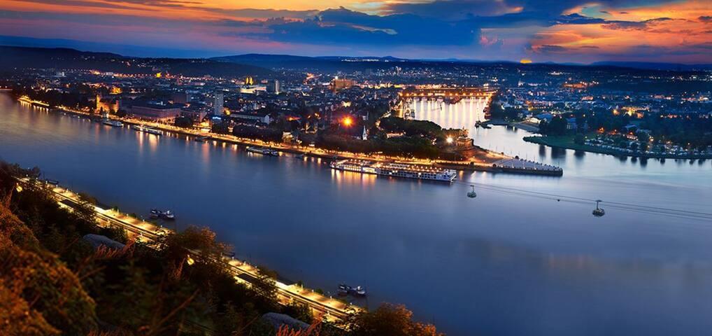3rd floor city Koblenz