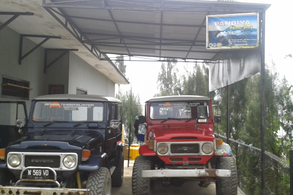 my jeep is ready for bromo tour