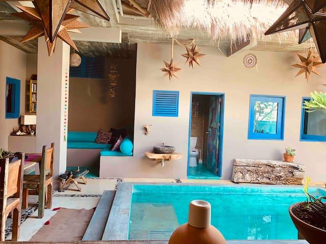 Linda casa en Punta de Mita! 2 cuadras de la playa