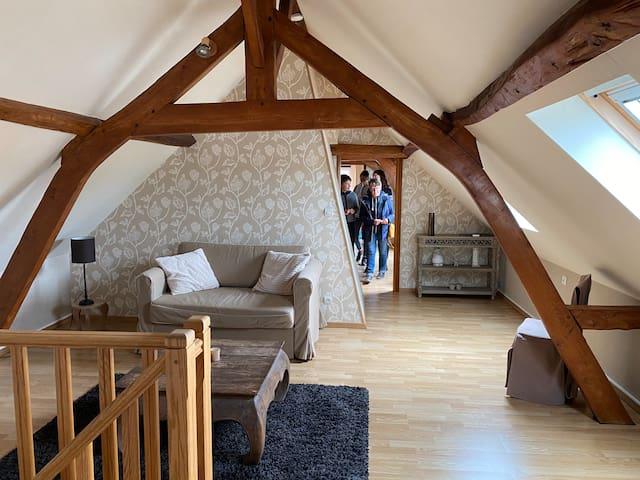 """Chambre d'Hôte """"Julien"""" dans longère de charme."""