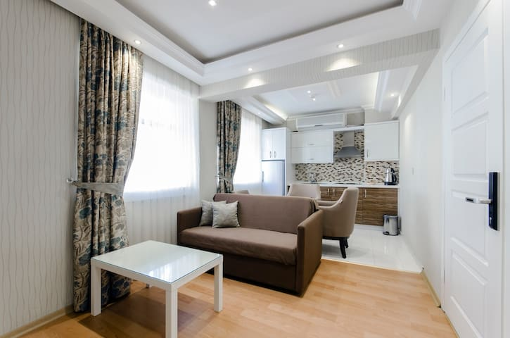 Lüx 1+1 Studio Deluxe Suit - İzmir - Apartment