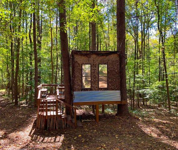 Eden Treehouse at Tiny-Living Eco-Farm & Homestead