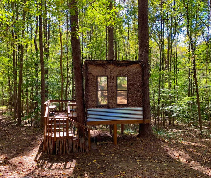 Eden Treehouse at Tiny-Living Eco-Farm & Homestead