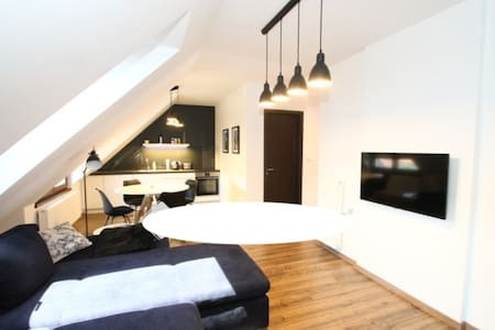 belvárosi modern apartman