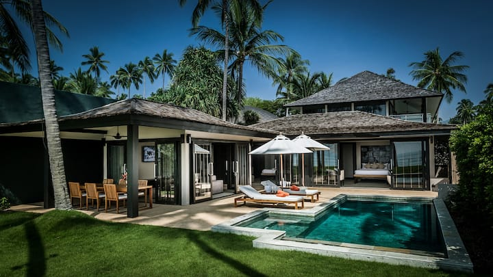 Beachfront 2 Bedroom Villa with Private Pool By Nikki Beach Resort & Spa