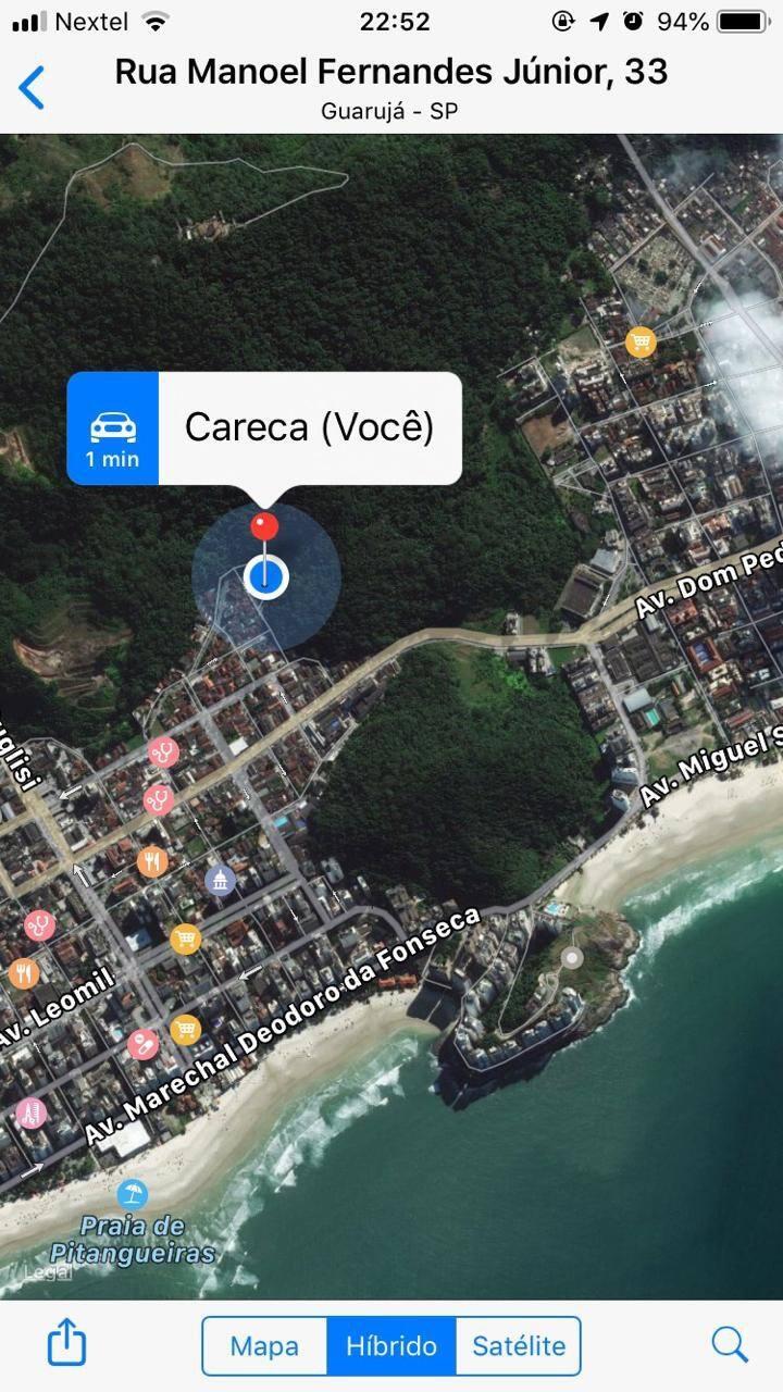 Suítes na praia das Pitangueiras/Guarujá