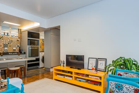 Lovely 2 bed and 2bath close to Paulista (5 min.) - São Paulo - Wohnung