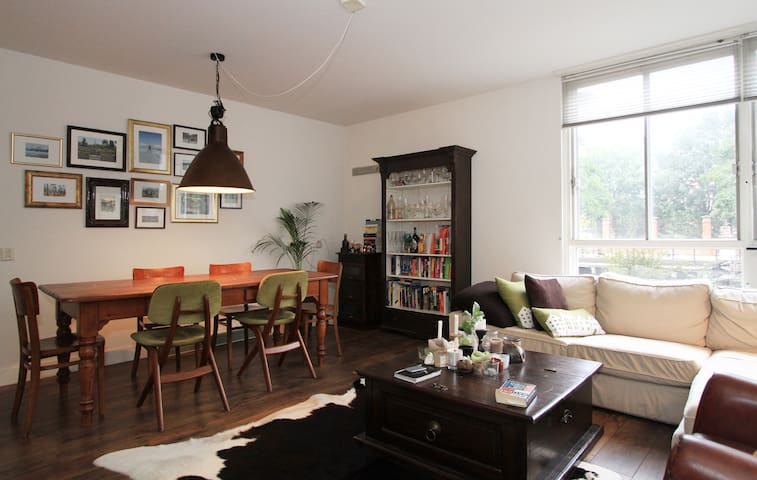 Central, cozy apartment Amsterdam - Amsterdam - Apartemen