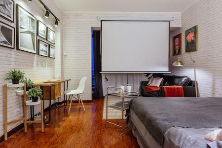 澳大利亚加拿大使馆眺望三里屯soho通盈中心 SLT Base - Apartemen
