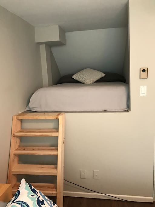 Secondary double in guestroom
