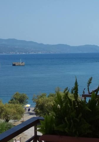 By the sea, in Kalamata! * Two - room apartment.