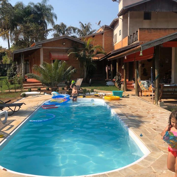 Rancho com Piscina - Viva a Vida