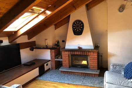Attic penthouse with corner bar and Poker table