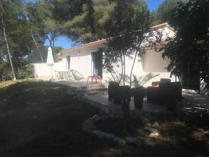 Villa moderne au cœur de la pinède