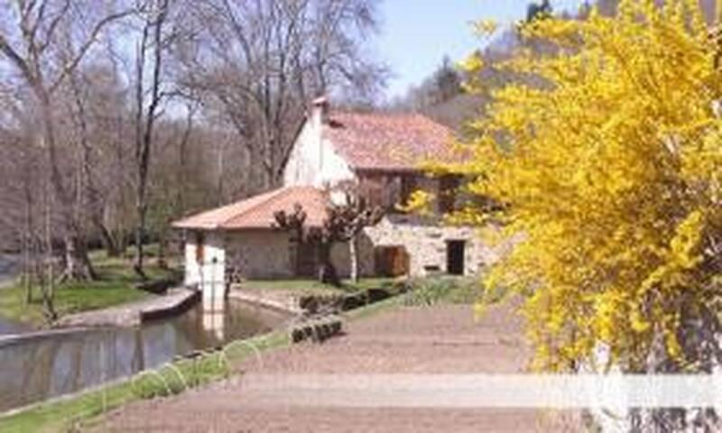 Oasis de paix pleine nature, Moulin 8 pers/piscine