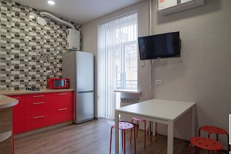 apartment on Pobedy ave ( City center )