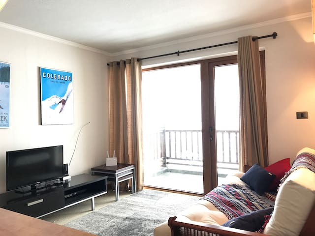 Valle Nevado ski in/out apartment (5-6 people)