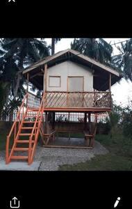sibuyan beach front hut