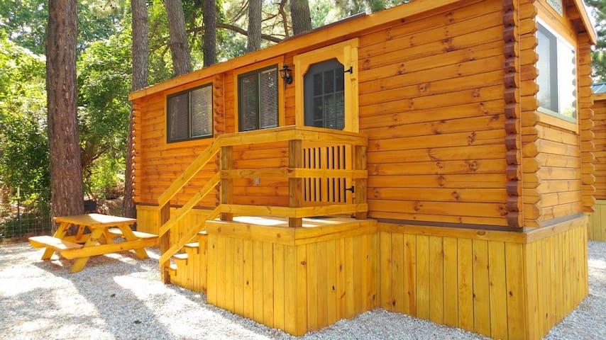 Premium Log Cabin in Williamsburg / Busch Gardens