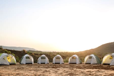 Unique Stay in Tents Under the Open Sky at Achrol