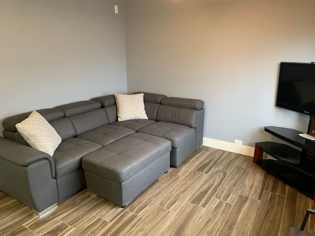 newly renovated apartment