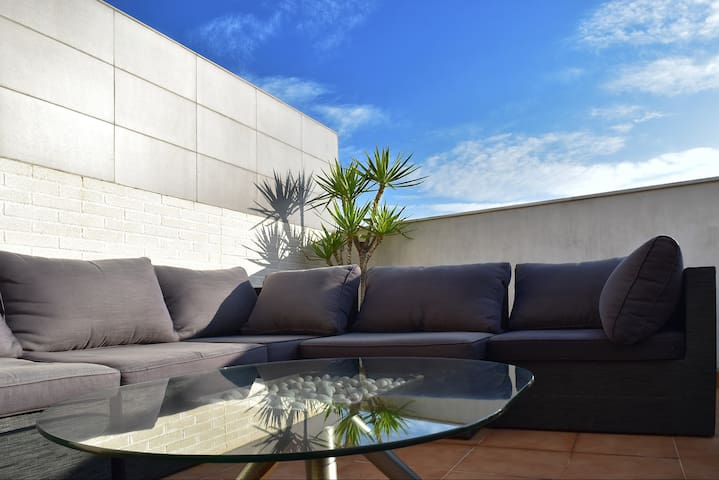 LIVING ROOM ´s LOUNGE TERRACE