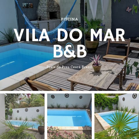 Vila do mar B&B ** quarto duplo**