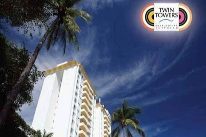 TWIN TOWERS DEPARTAMENTO VIP. PLAYA DE ACAPULCO