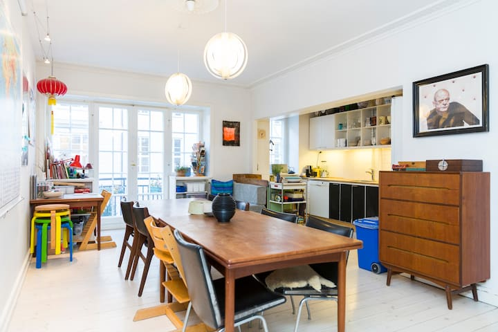 Family apartment in Copenhagen C