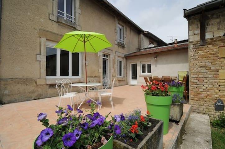 gite chez henriette - Machault - House