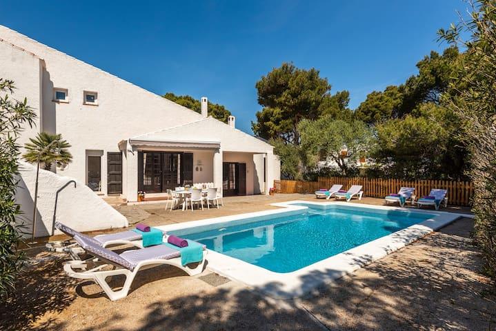 Preciosa Villa en Cala Morell