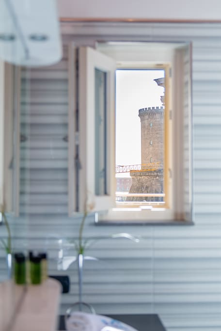 Vista dal bagno - View from bathroom
