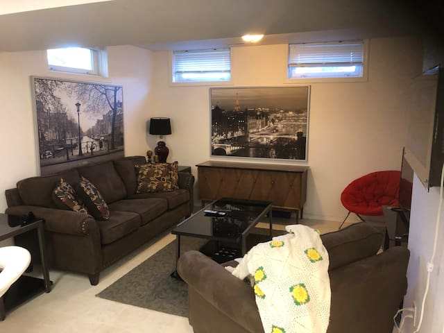 Centrally located in a quiet neighborhood