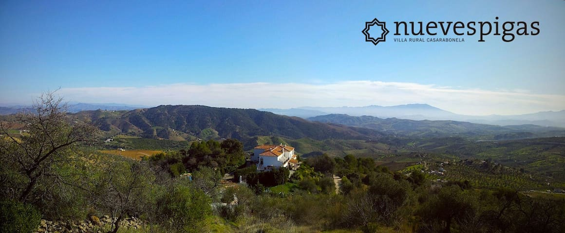 Charming Villa with private pool and amazing views - Casarabonela - Casa de camp