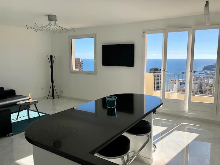 Superbe appartement vue mer panoramique