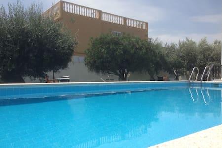 ❤️Apartamento en Casa n1 en Playa & Piscina,Jardín
