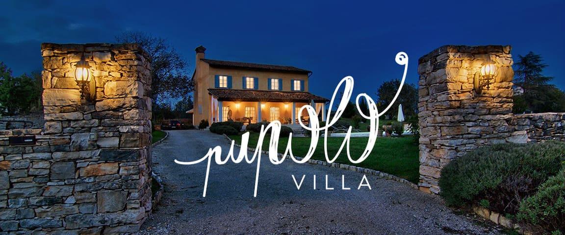 Villa Pupolo. Luxury Villa - Groznjan