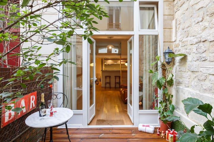 Parisian Loft with terrace - 巴黎 - 公寓