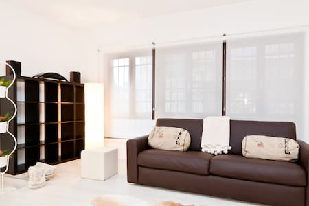 New stylish loft with balcony