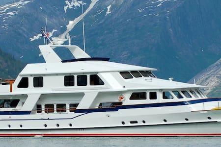 VIP Alaska Yacht Charter-Inner Pas