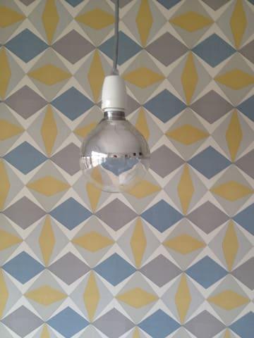 Chambre spacieuse dans jolie maison - sdb privée