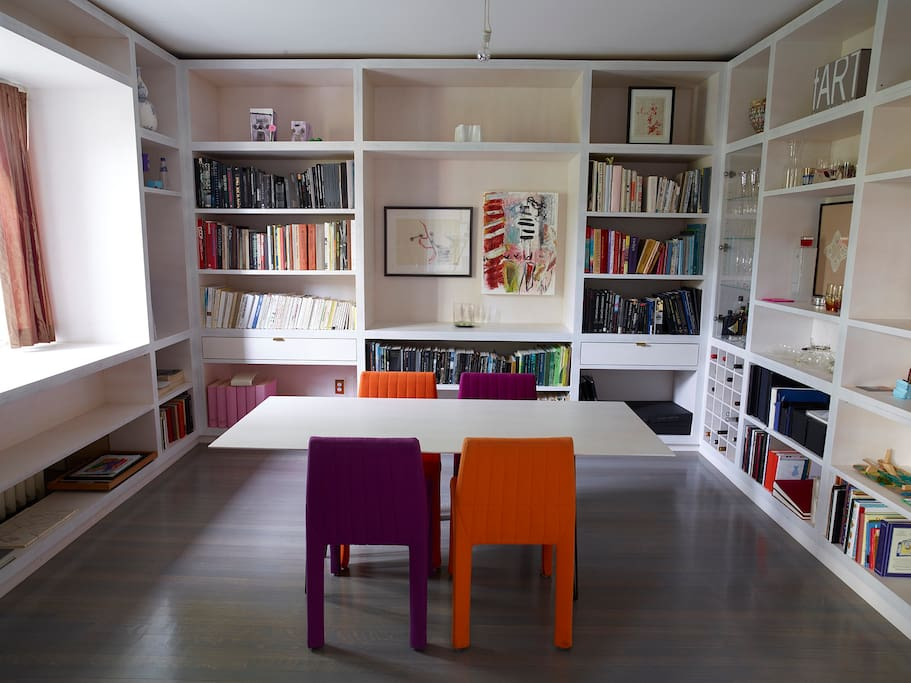 Dining Room-Library