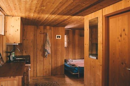 Cosy Wood Cabin in Innsbruck Woods - Innsbruck - Hutte