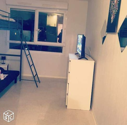 studio prox gare sncf et centre - Marsilya - Ortak mülk