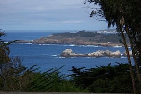 Carmel Ocean views: Rustic Elegance - Carmel - Casa