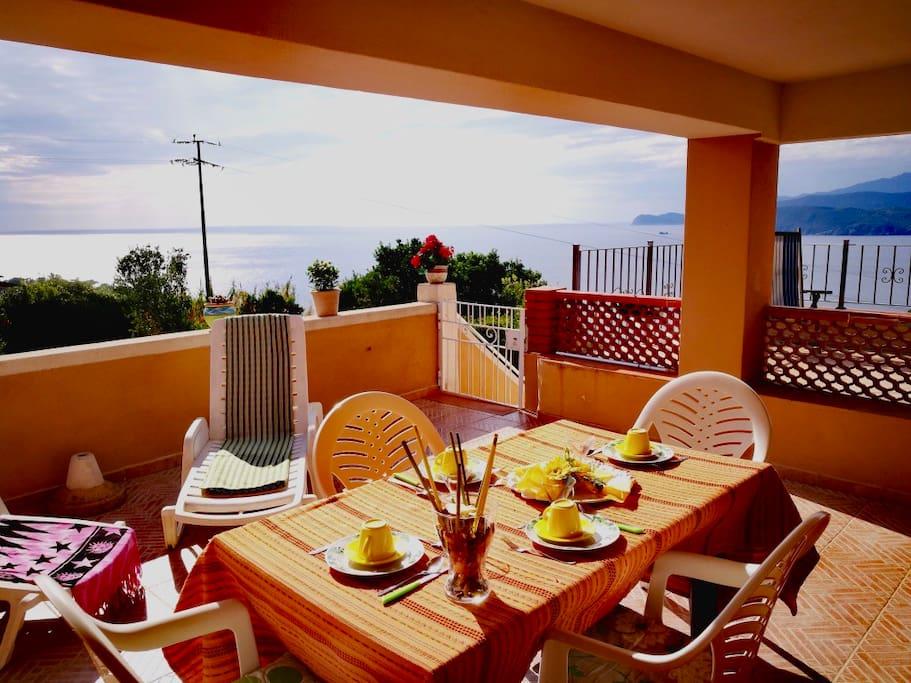 prima terrazza -first terrace -erste terrasse